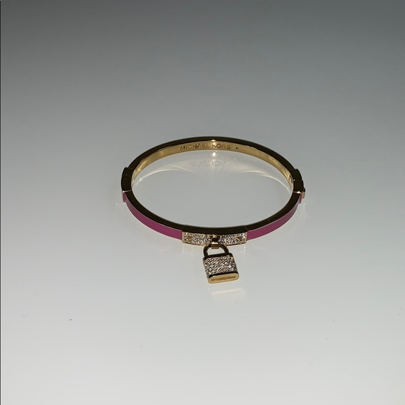 Gold & pink Michael Kors Bracelet